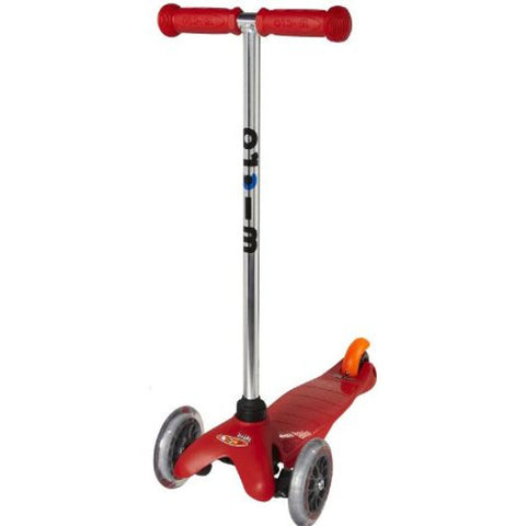 Micro Kickboard Mini Scooter, Solid Red