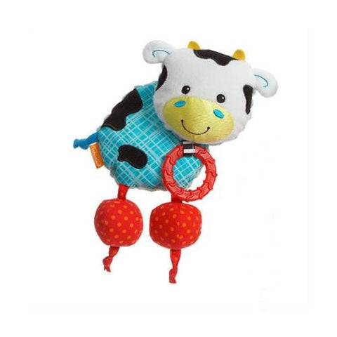 Infantino Squeeze and Teeth Lovey - Cow