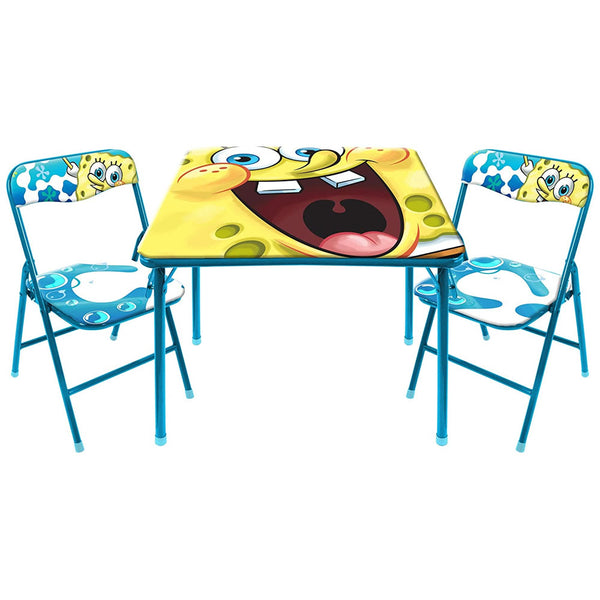 Nickelodeon Sponge Bob 3-Piece Table and Chair Set