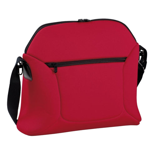 Peg Perego Borsa Soft - Diaper Bag Flamenco- Cherry Red/Black