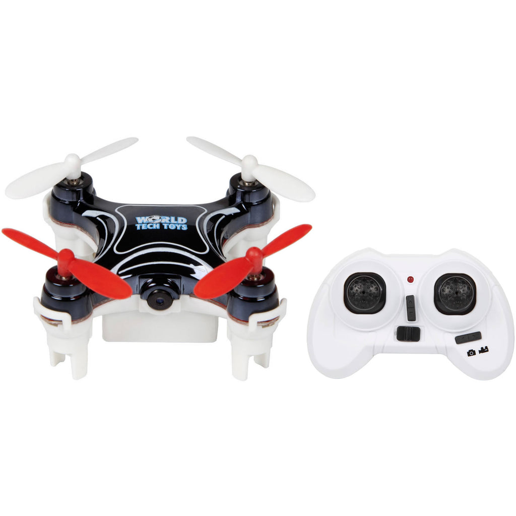 World Tech Toys Nemo 2.4GHz 4.5CH Camera RC Spy Drone - Black