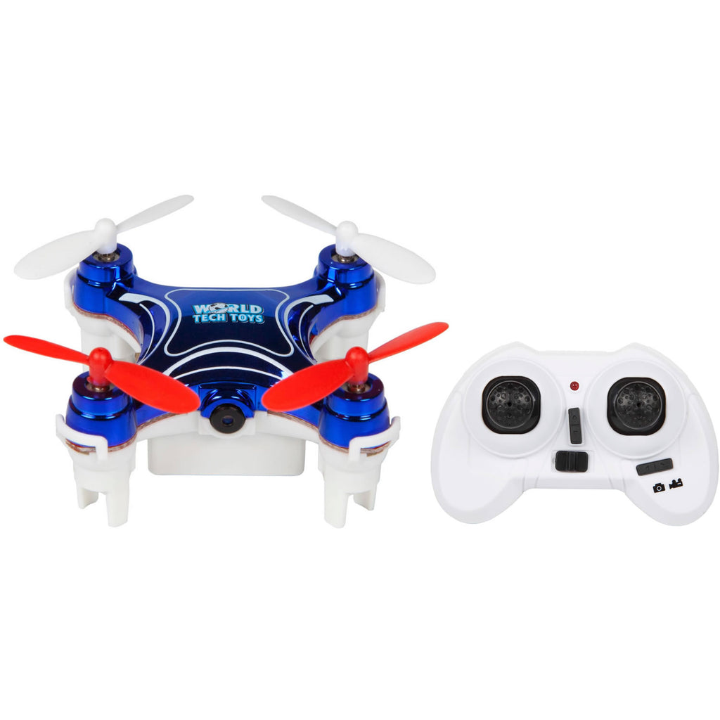 World Tech Toys Nemo 2.4GHz 4.5CH Camera RC Spy Drone - Blue