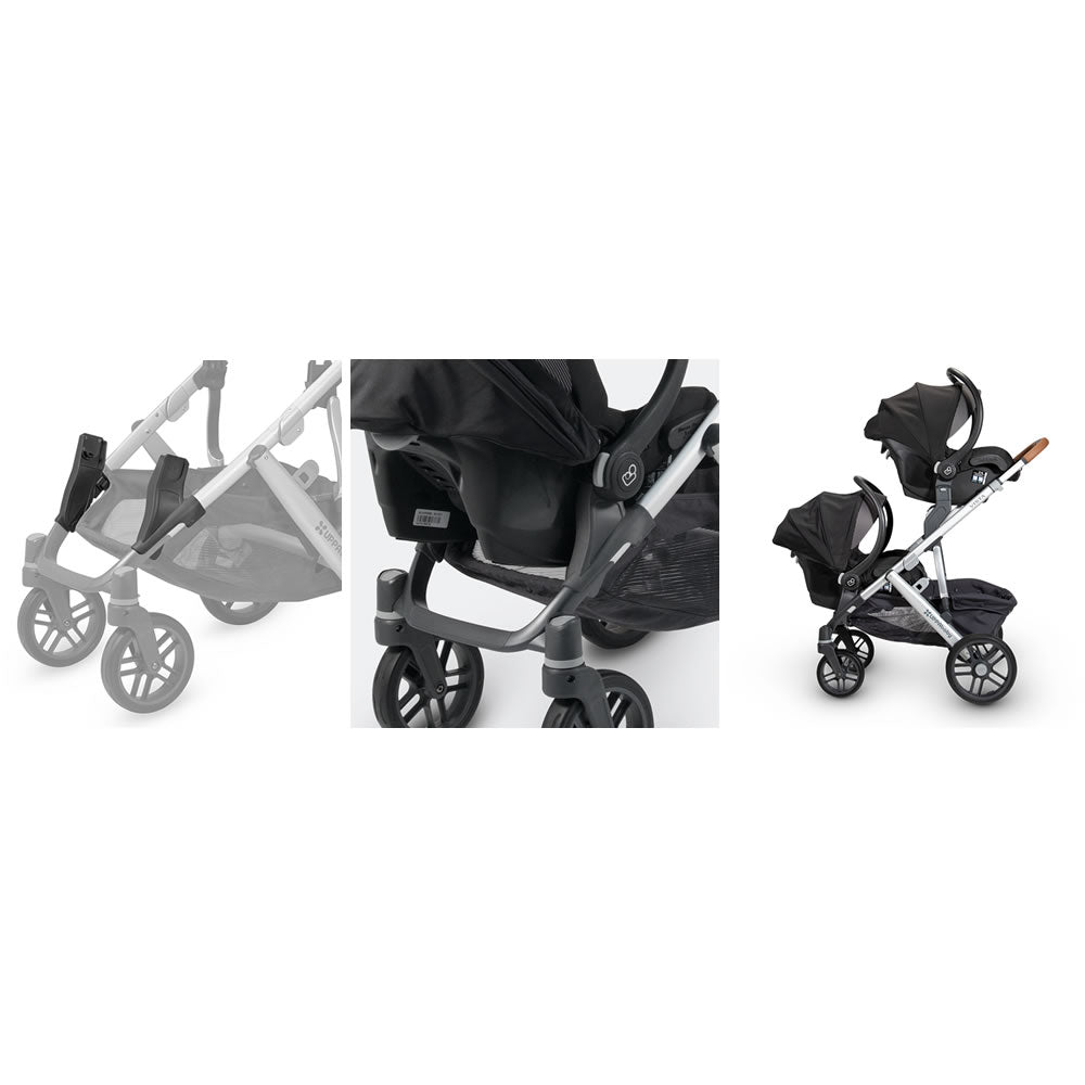 Nuna UPPAbaby Lower Infant Car Seat Stroller folds Adapter for Maxi-COSI Cybex