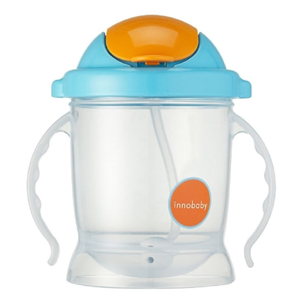 Innobaby Sippin' Smart EZ Flow Straw Sippy Cup - Blue