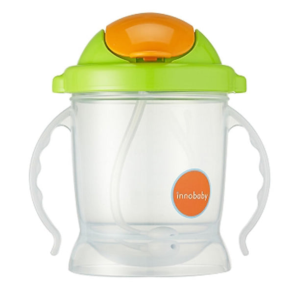 Innobaby Sippin' Smart EZ Flow Straw Sippy Cup - Green