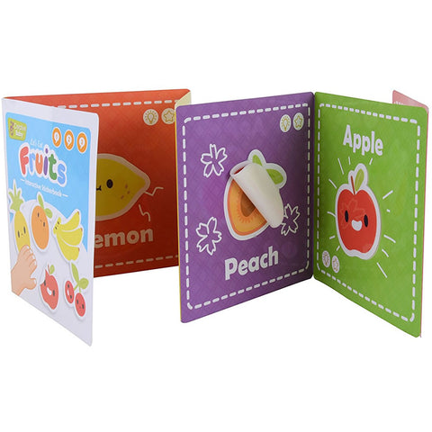 Creative Baby Interactive Sticker Book - Fruit