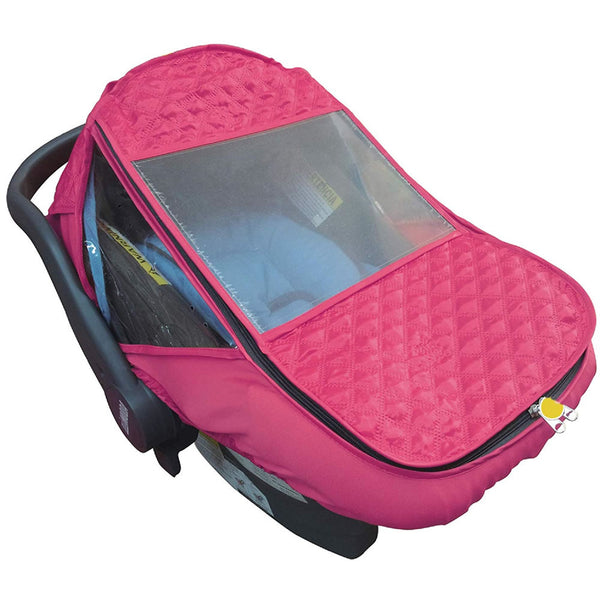 Apple Baby Universal Infant Car Seat Rain Shield - Pink