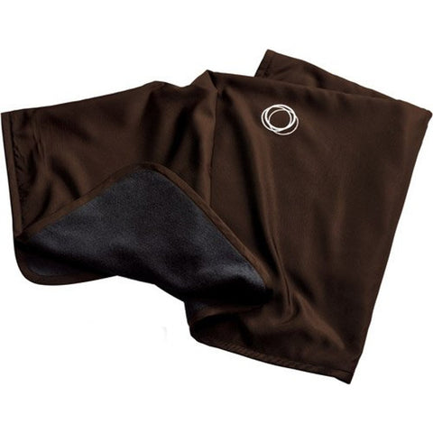 Bugaboo Micro Fleece Blanket - Dark Brown
