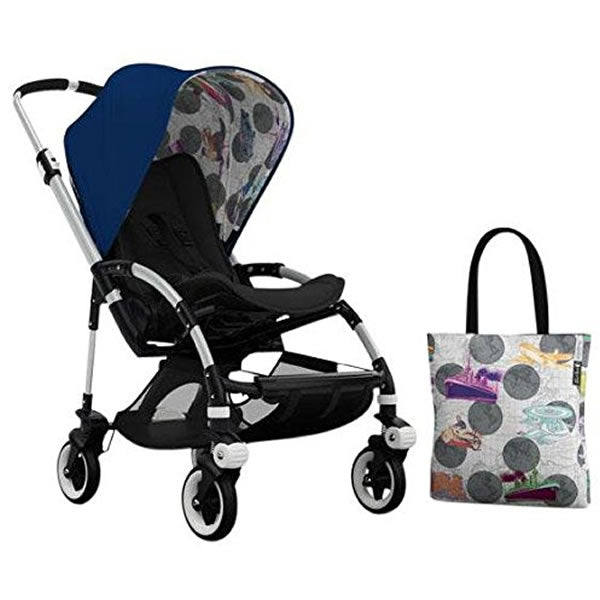 Bugaboo Bee3 Andy Warhol Accessory Pack - Royal Blue/Transport