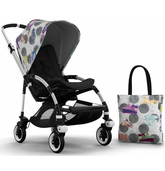 Bugaboo Bee3 Andy Warhol Accessory Pack - Transport/Dark Grey