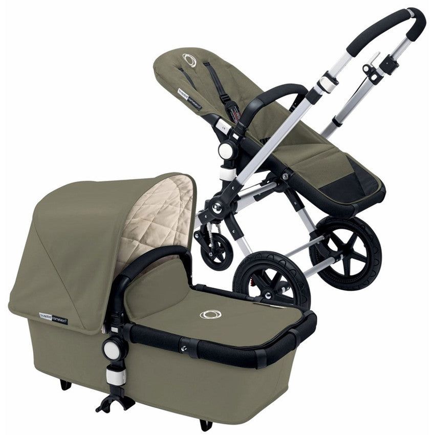 Bugaboo Cameleon3 Complete Stroller Classic Collection  - Dark Khaki
