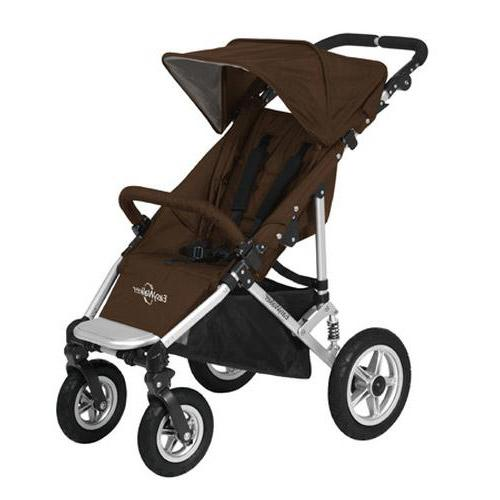 EasyWalker QTRO Single Stroller Brown