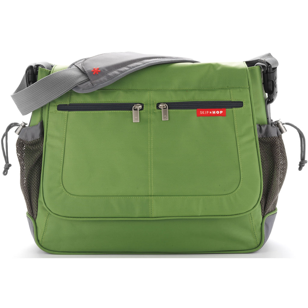 Skip Hop Via Messenger Diaper Bag - Lime