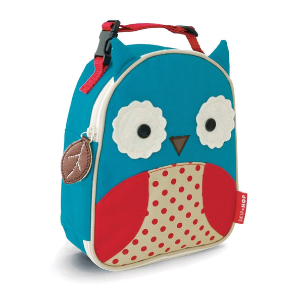 Skip Hop Zoo Lunchies Insulated Lunch Bag, Owl
