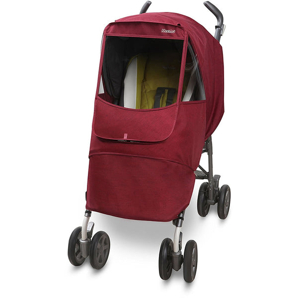 Manito Melange Alpha Stroller Weather Shield - Red