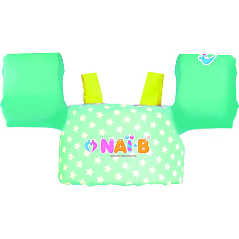 Nai-B K Star Arm Band Swim Jacket - Mint