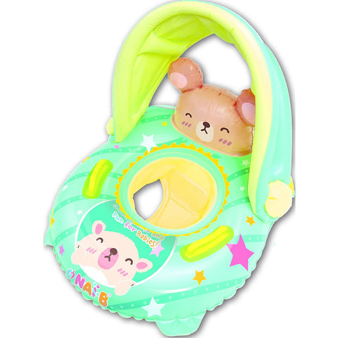 Nai-B K Hamster Cushion Parasol Baby Walker Swim Tube - Mint