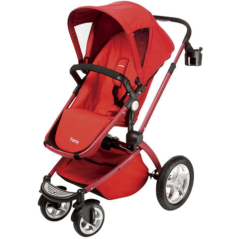 Maxi Cosi Foray LX Stroller - Intense Red
