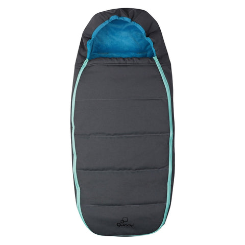 Quinny Buzz Footmuff - Blue Scratch