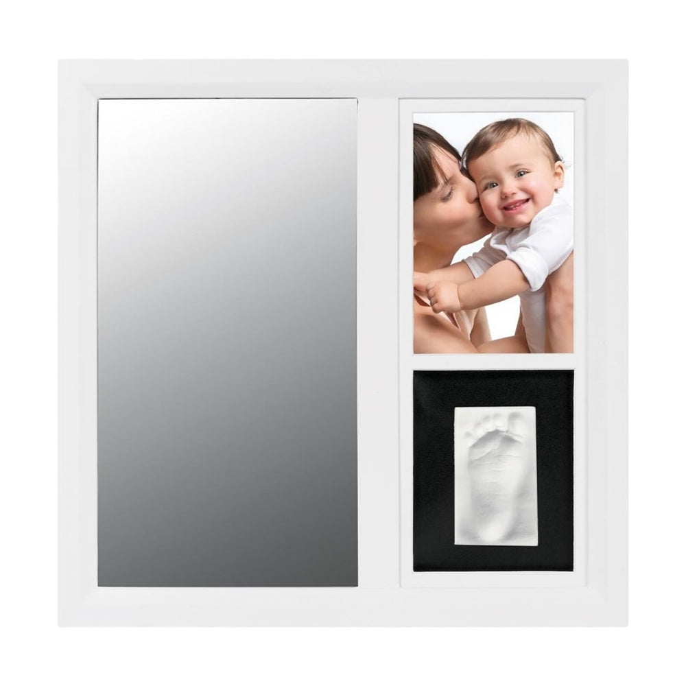 Baby Art Mirror Print Frame - White