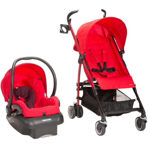 Kaia and Mico NXT Travel System, Intense Red
