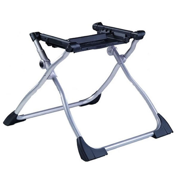 Peg Perego Navetta XL Bassinet Stand Black and Silver Stand