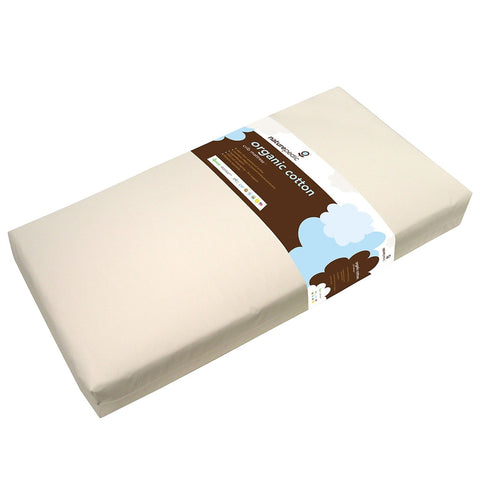 Naturepedic Organic Cotton Lightweight Classic 2-Stage Crib Mattress