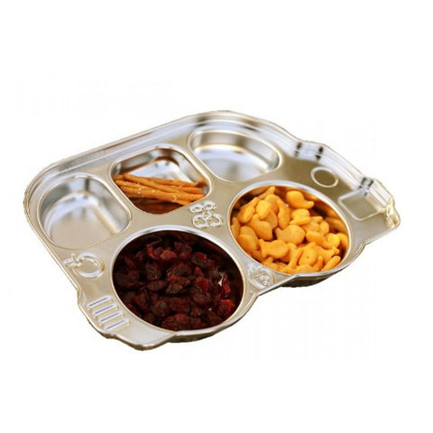 Innobaby Stainless Bus Divided Platter