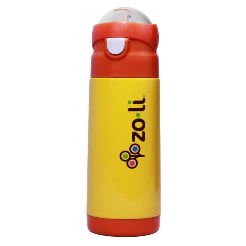 Zoli Baby Dash Vacuum Insulated Water Bottle 12 oz - Orange