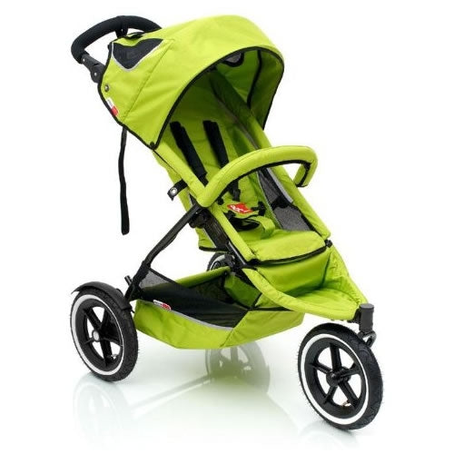 phil&teds Sport Buggy Jogging Stroller - Apple
