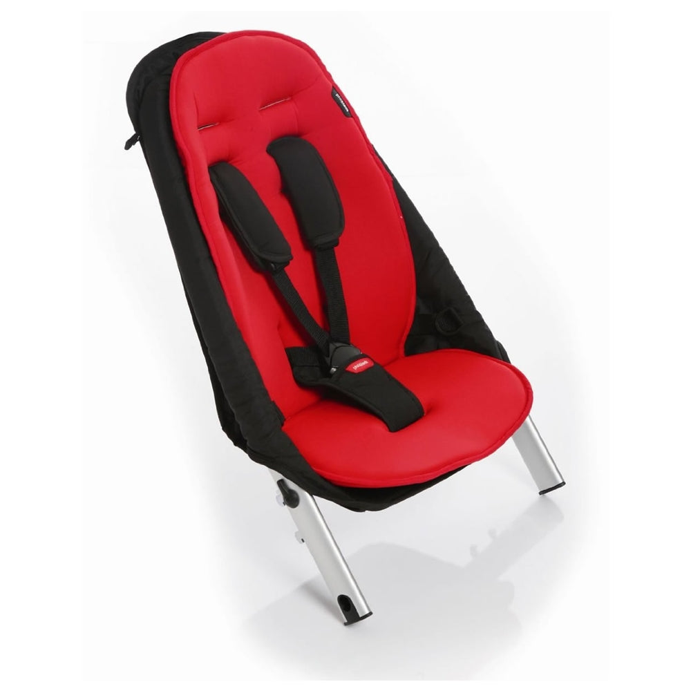 phil&teds Vibe Double Buggy Kit in Red