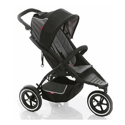phil&teds Dash Buggy Stroller  - Charcoal