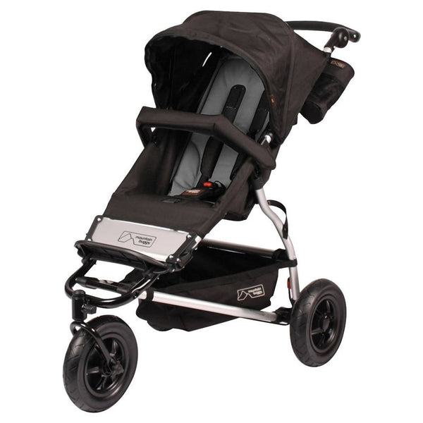 Mountain Buggy Swift Compact Stroller - Flint