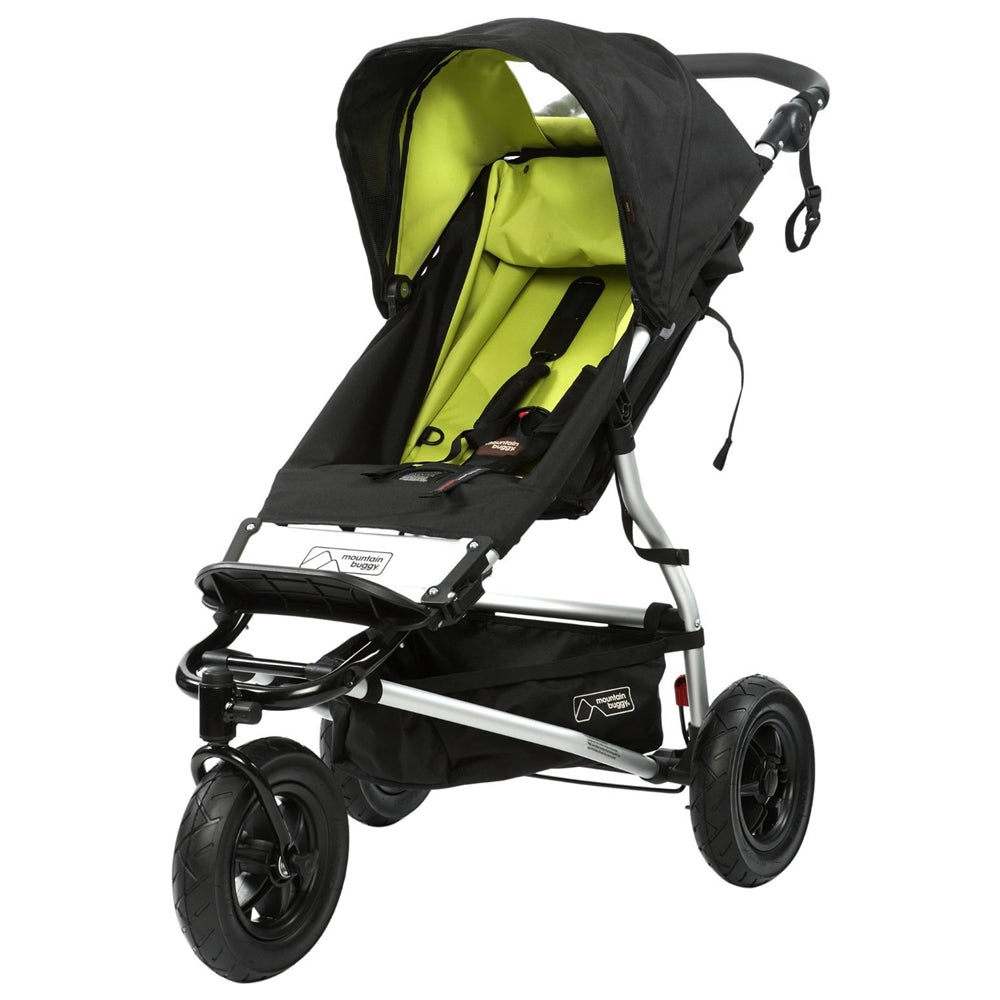 Mountain Buggy Swift Compact Stroller Lime