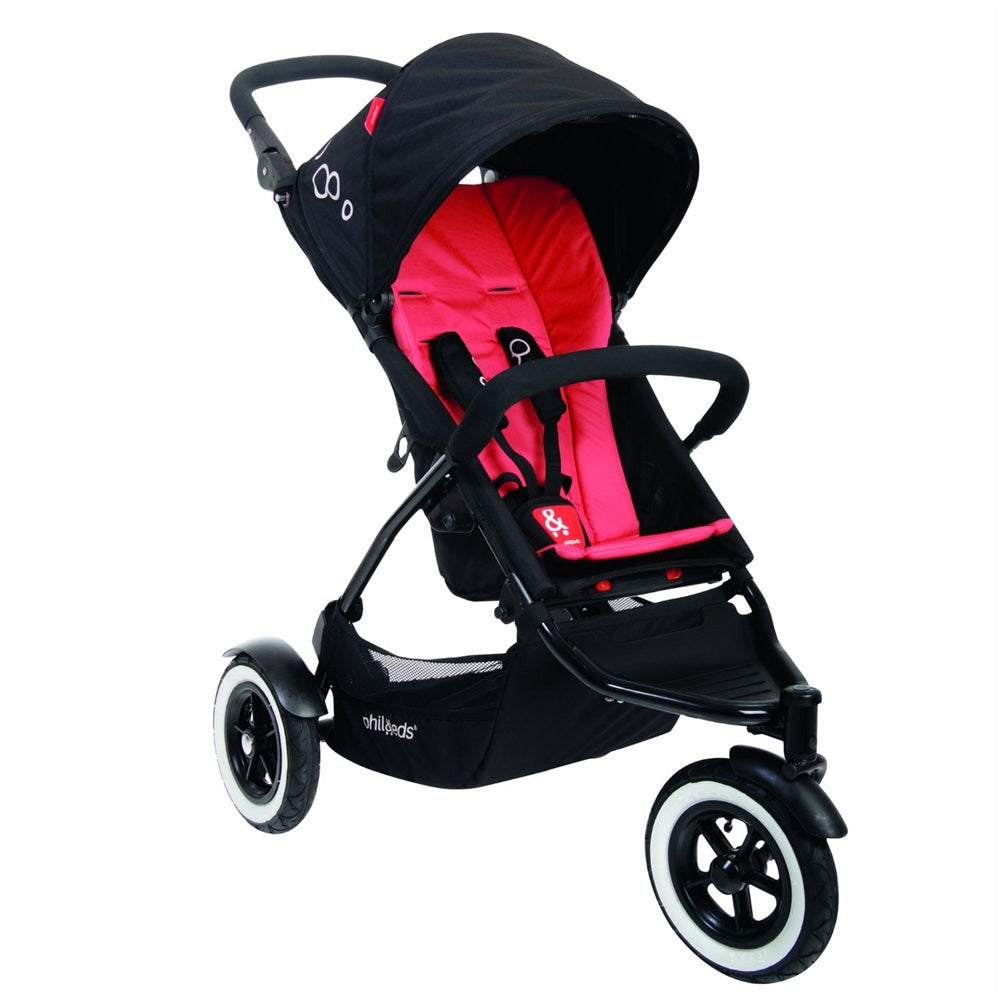 phil&teds DOT Buggy Stroller - Chili