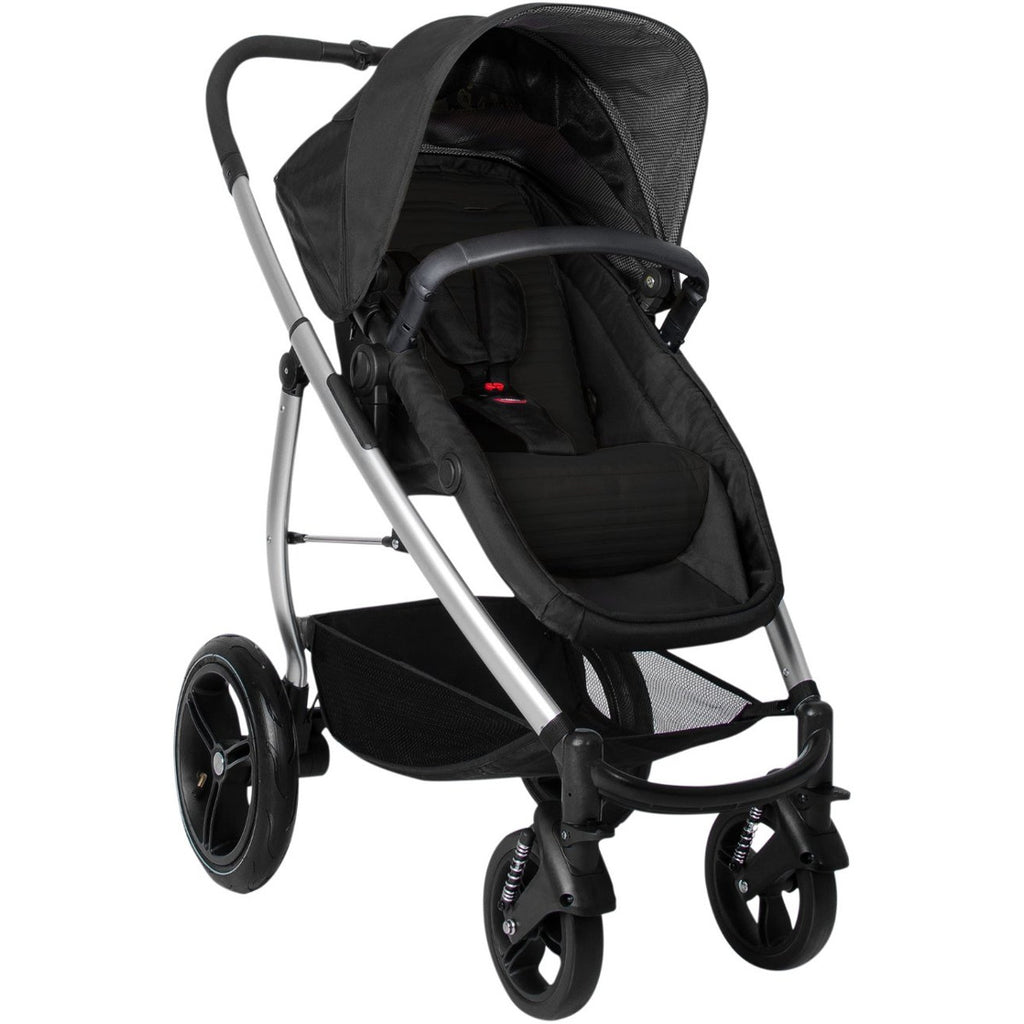 phil&teds Smart Lux Stroller, Black
