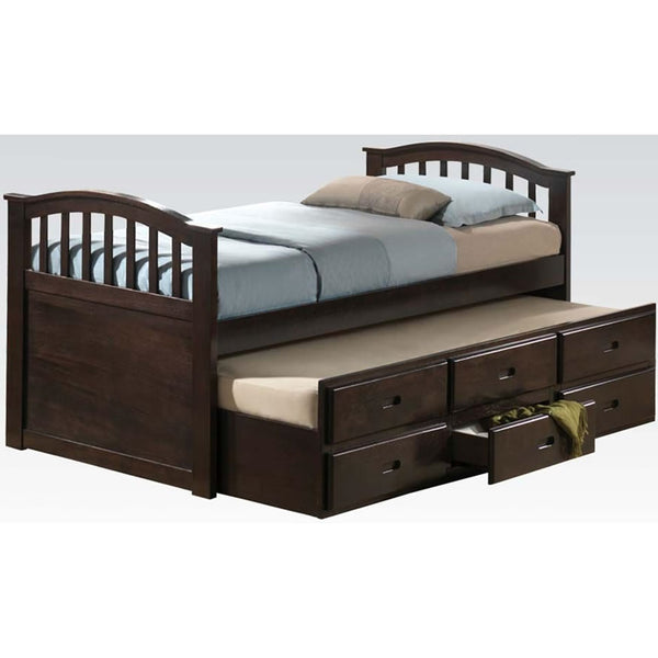Acme Furniture Full Bed with Twin Trundle Drawer