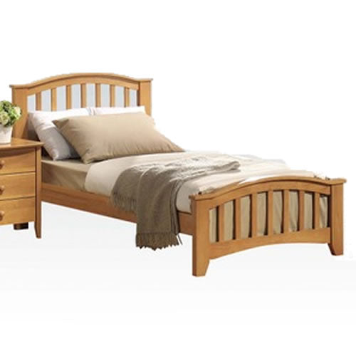 Acme Furniture San Marino Twin Beds - Maple Finish
