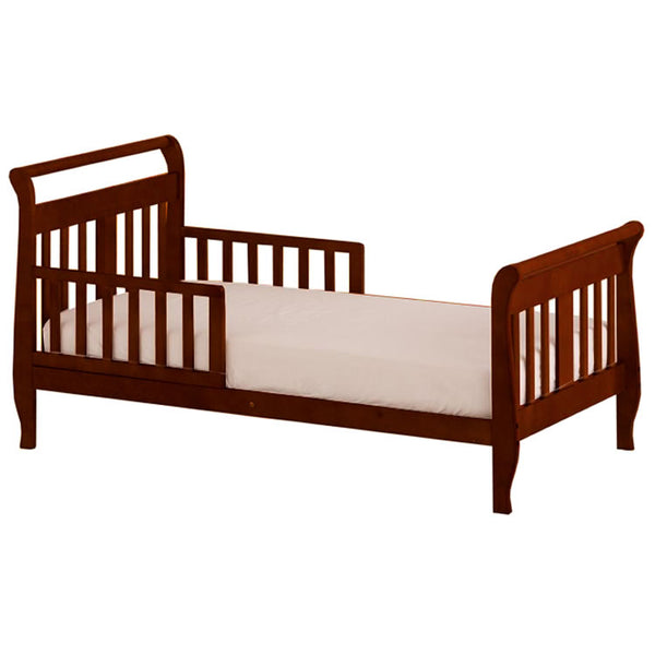Angel Line Sleigh Toddler Bed in Cherry