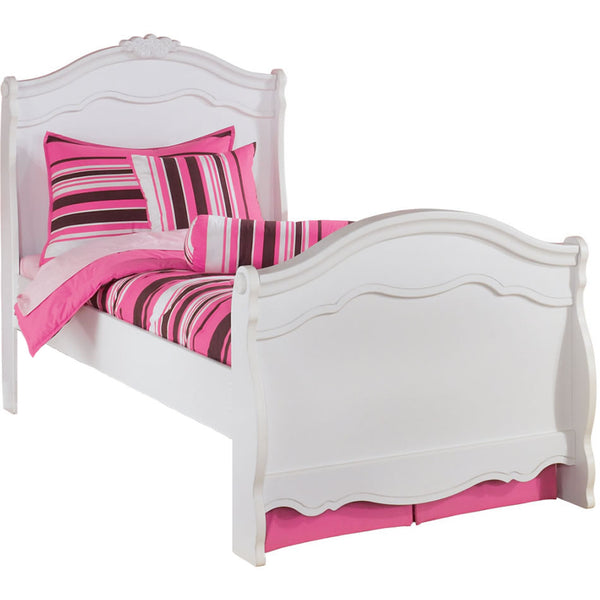 Ashley Furniture Exquisite Twin Sleigh Bed - White