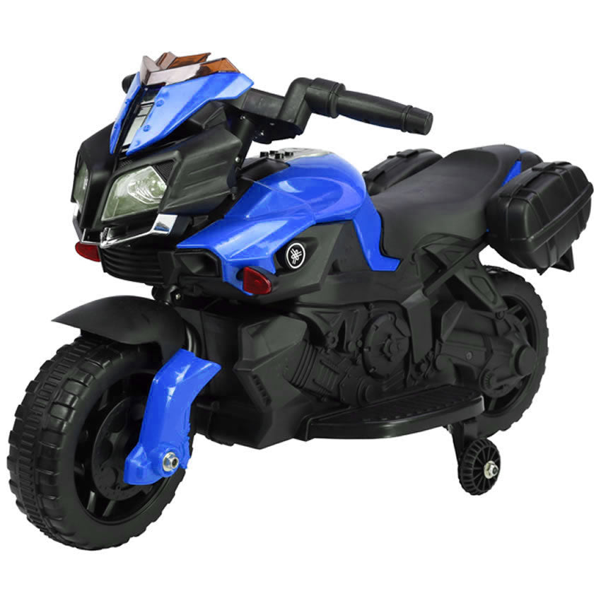 Ride On 6V Battery Powered Electric Motorcycle for Kids - Blue