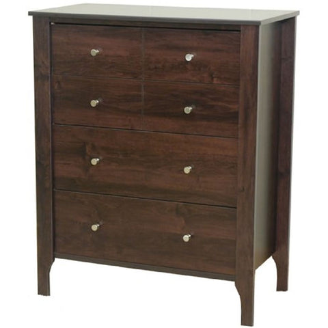 Child Craft Brook Bridge 4 Drawer Chest, Dark Alder