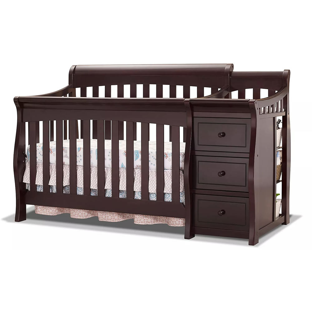 Sorelle Furniture Princeton Elite Crib & Changer - Espresso