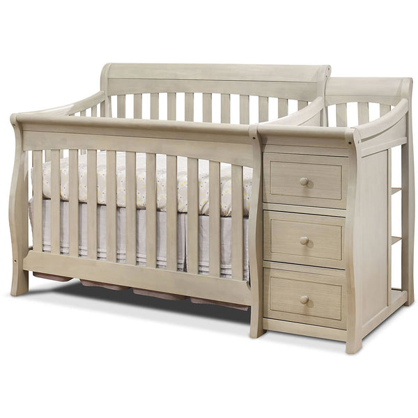 Sorelle Furniture Princeton Elite Crib & Changer - Heritage Fog