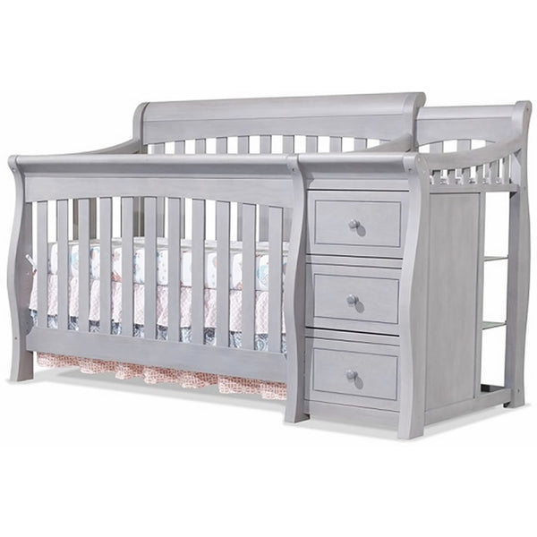 Sorelle Furniture Princeton Elite Crib & Changer - Weathered Gray