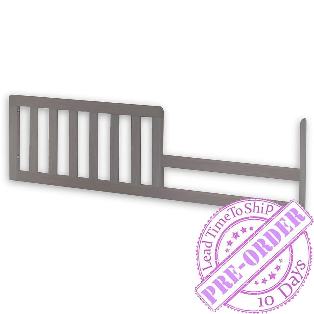 Sorelle Furniture Guard Rail 151 - Weathered Gray
