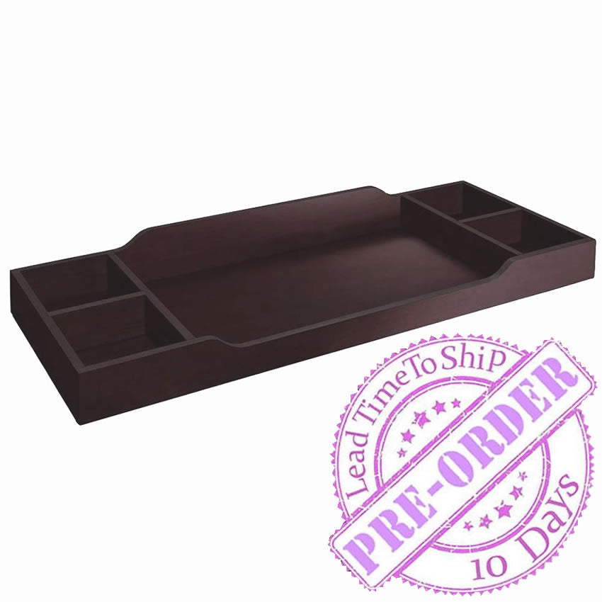 Sorelle Furniture Universal Changing Tray Topper - Espresso