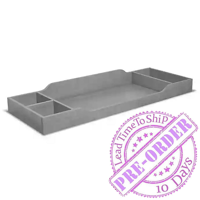 Sorelle Furniture Universal Changing Tray Topper - Stone Gray