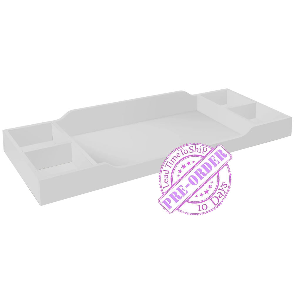 Sorelle Furniture Universal Changing Tray Topper - White