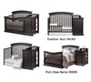 Sorelle Furniture Sedona Crib & Changer in Espresso